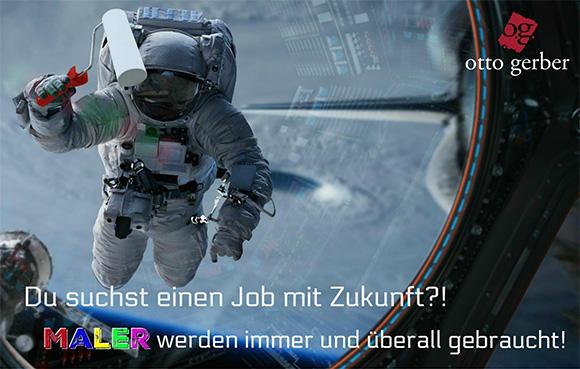 Du suchst einen Job mit Zukunft?! MALER werden immer und überall gebraucht!