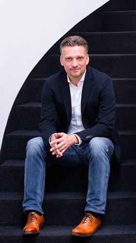 Nicolai Voß, Inhabender Geschäftsführer  Malereibetrieb Otto Gerber GmbH